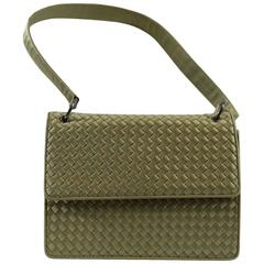 Bottega Veneta Intrecciato Silk Shoulder Bag
