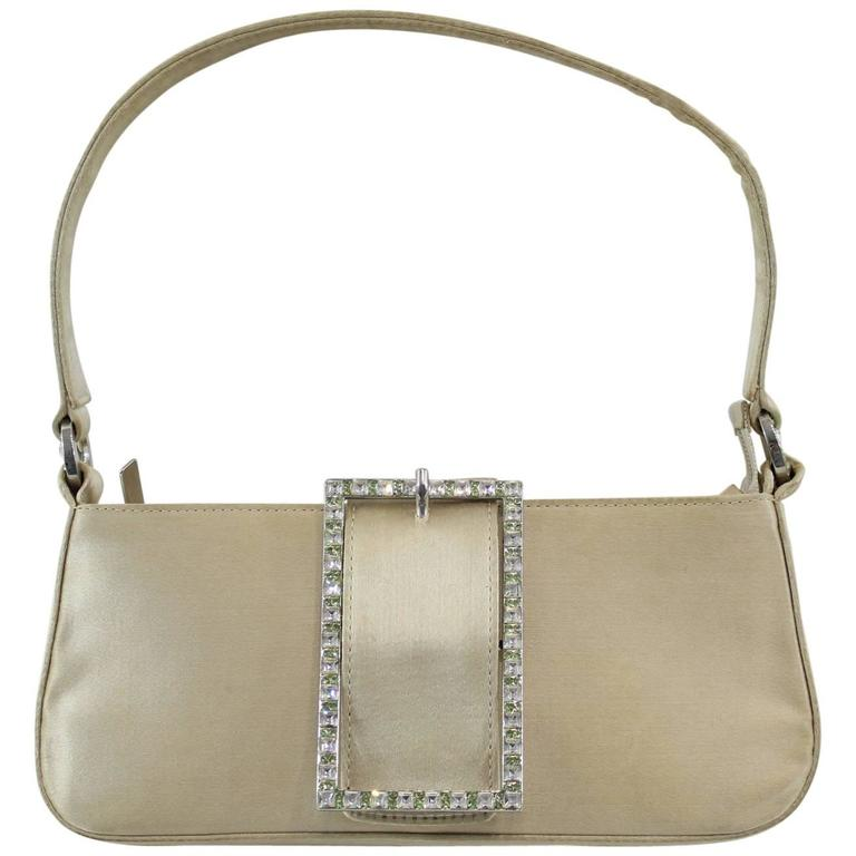 Jimmy Choo small Weeding Bag with Swarovsky Crystals For Sale