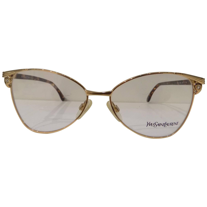 Ysl Glasses Frame : 1980s Yves Saint Laurent Frame - Glasses at 1stdibs