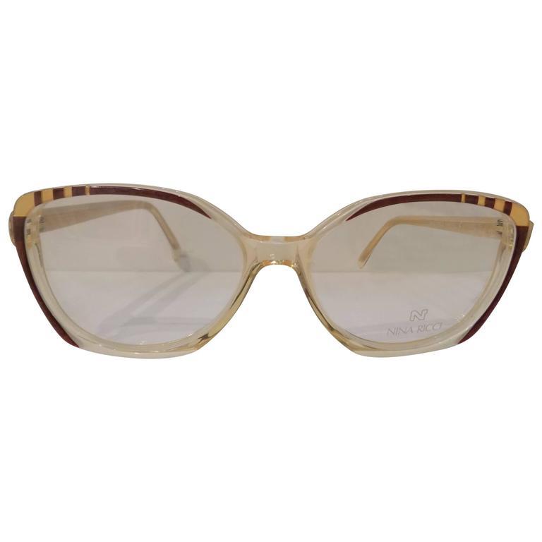 1980s Nina Ricci glasses - frame