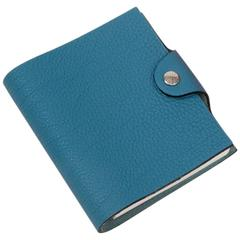 Hermès New Togo Leather Ulysse Notebook