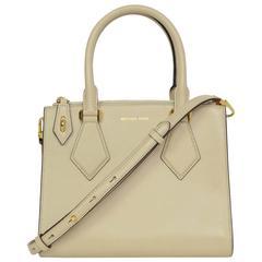Michael Kors Vanilla Small Casey Satchel Bag/ Strap rt. $900