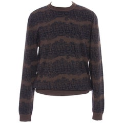 Louis Vuitton Christopher Nemeth Men's Wool Rope Pattern Sweater, Fall 2015