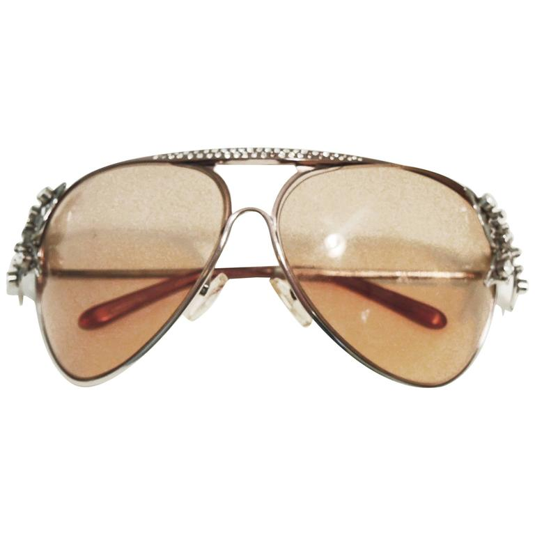 Authentic Vintage Valentino Butterfly Sunglasses With Case