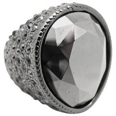 Kenneth Jay Lane Swarovski Crystal Cocktail Ring