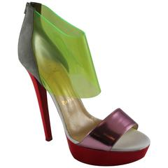 blue christian louboutin shoes - Vintage Christian Louboutin: Shoes, Bags & More - 92 For Sale at ...