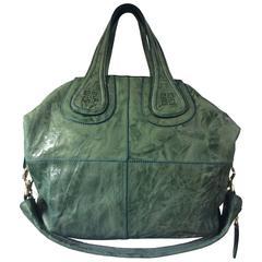 Givenchy Stonewash Green Nightingale Tote