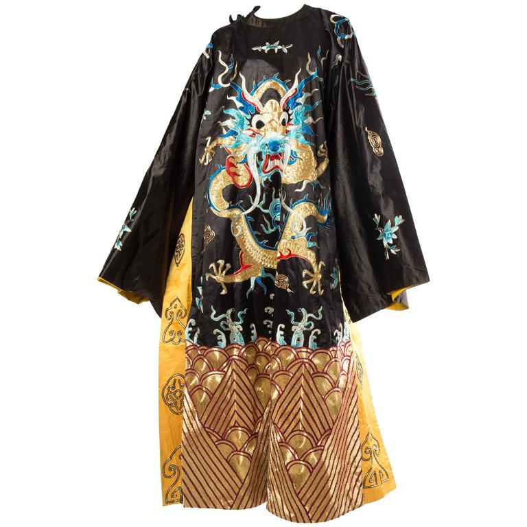 Chinese Opera Emperor's Dragon Robe 1