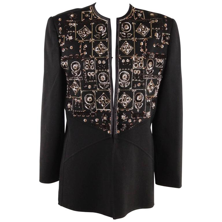 Vintage black evening jacket