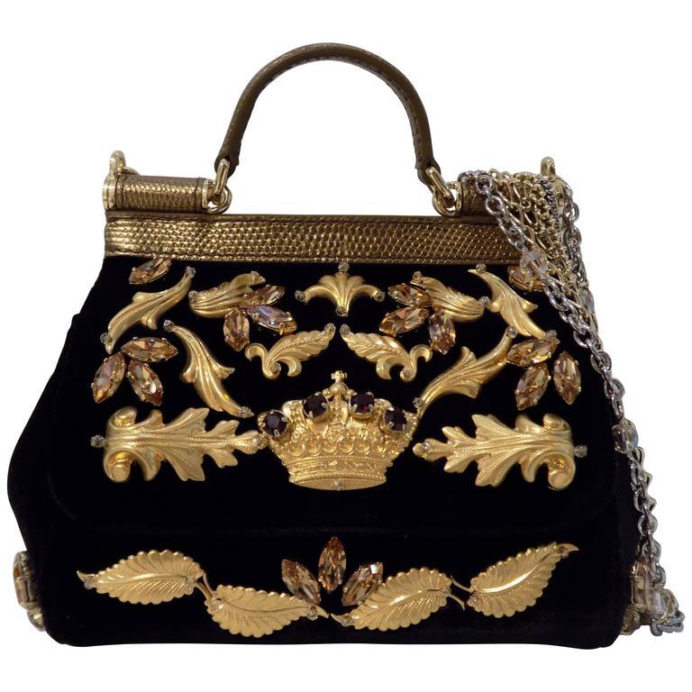 bde161cd57 Dolce and Gabbana Limited Edition Bag at 1stdibs