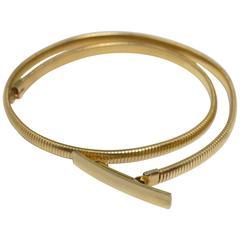 70s Gold Stretch Belt