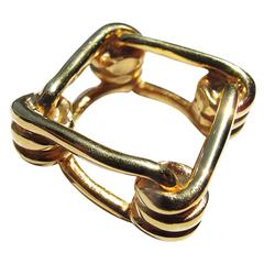 Reed Krakoff Gold-Tone Vampire Chain Ring