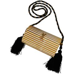 ysl bag sale uk - Yves Saint Laurent Ruffled St. Tropez Bag at 1stdibs