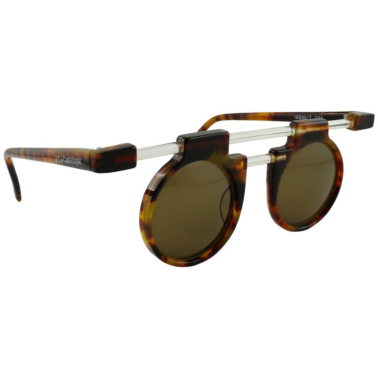 Jean-Charles de Castelbajac Vintage Modernist Sunglasses