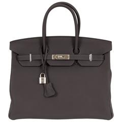 Hermès Birkin 35cm Etain Togo New in Box