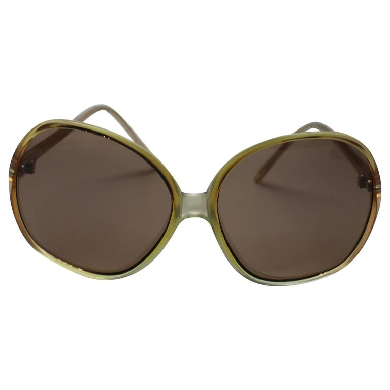 1970s Deadstock Sunglasses Made In France