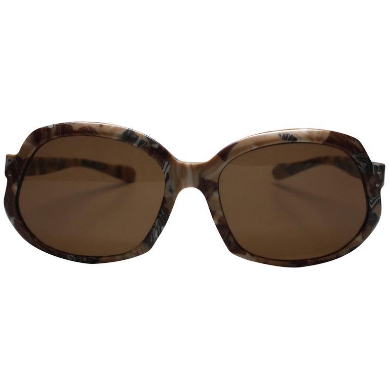1970s Deadstock St. Larel Sunglasses Made in France
