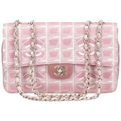 Chanel Pink New Travel Chain Flap Shoulder Bag