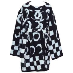 Very Rare Chanel Terry Bath Robe with Iconic CC