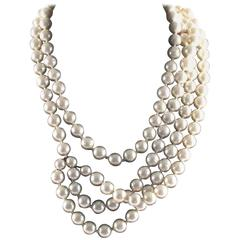 Chanel - Vintage Multistrand Necklace / Belt