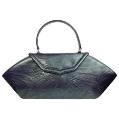 Philip Treacy Octagon Leather Handbag