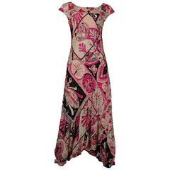 Emilio Pucci Haute Couture embellished harem jumpsuit, circa 1963