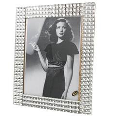 Large Impressive Mirrored Picture Photo Frame, France circa 1950s