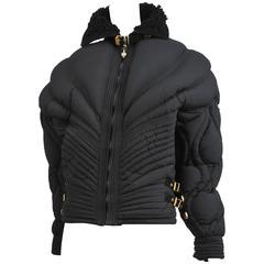 Versace Black Apres Ski Jacket