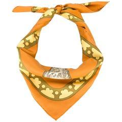 "Collectable ""Diane"" Hermès scarf 1972"