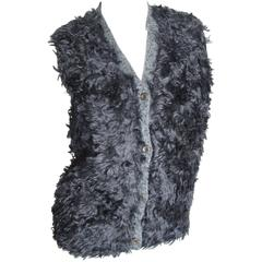 Prada Hairy Knit Sweater Vest
