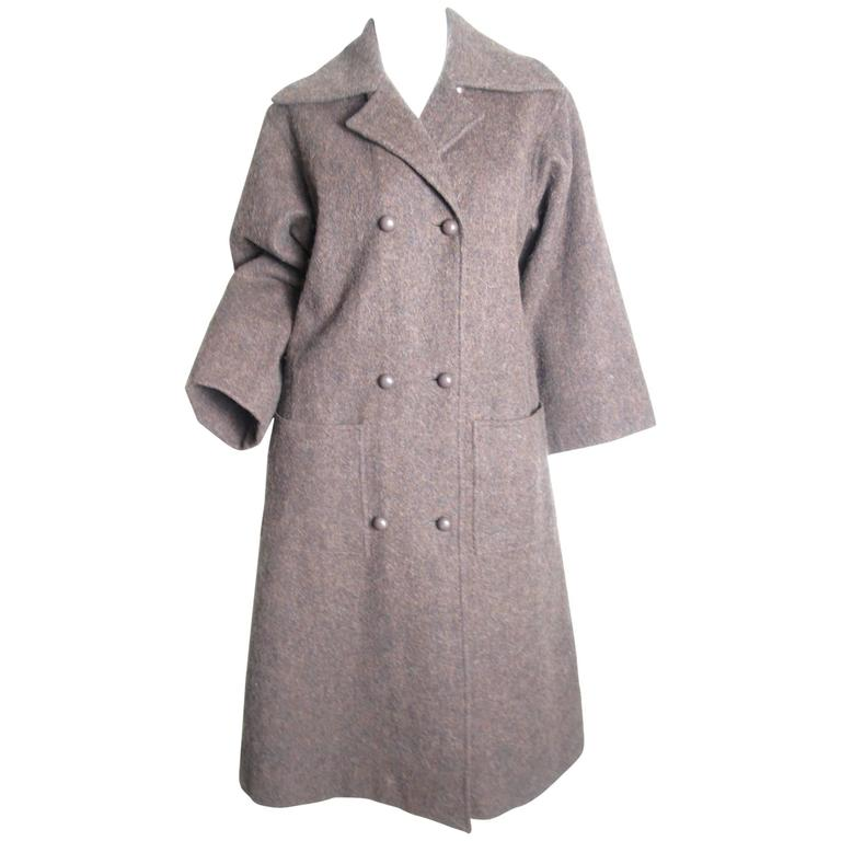 1960s Givenchy Wool Coat