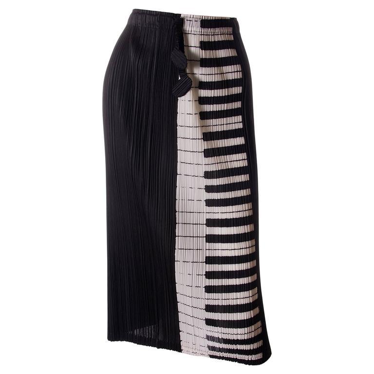 Issey Miyake Pleats Please Piano Key Skirt 1