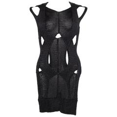 Alexander Wang Metallic Knit Dress