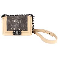 Chanel Small Exotic Stingray Boy Bag