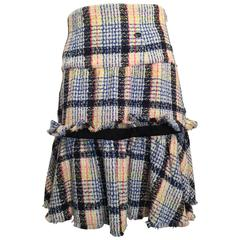 Chanel Multi-color Tweed Skirt size 38 (6)