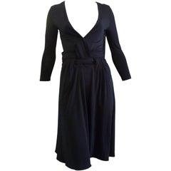 Just Cavalli Sexy Black Viscose Dress W/T (38 Itl)