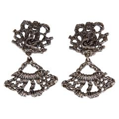 Christian Lacroix 1980s Brutalist Earrings