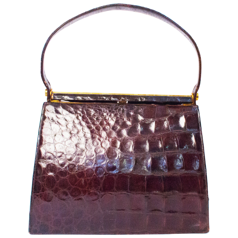 1stdibs Large C.1950 Brown Faux Fur Handbag pqvDg