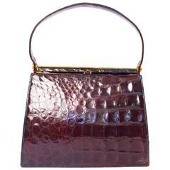 50s / 60s Alligator Handbag