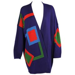 Marimekko Graphic and Colorful Wool Sweater