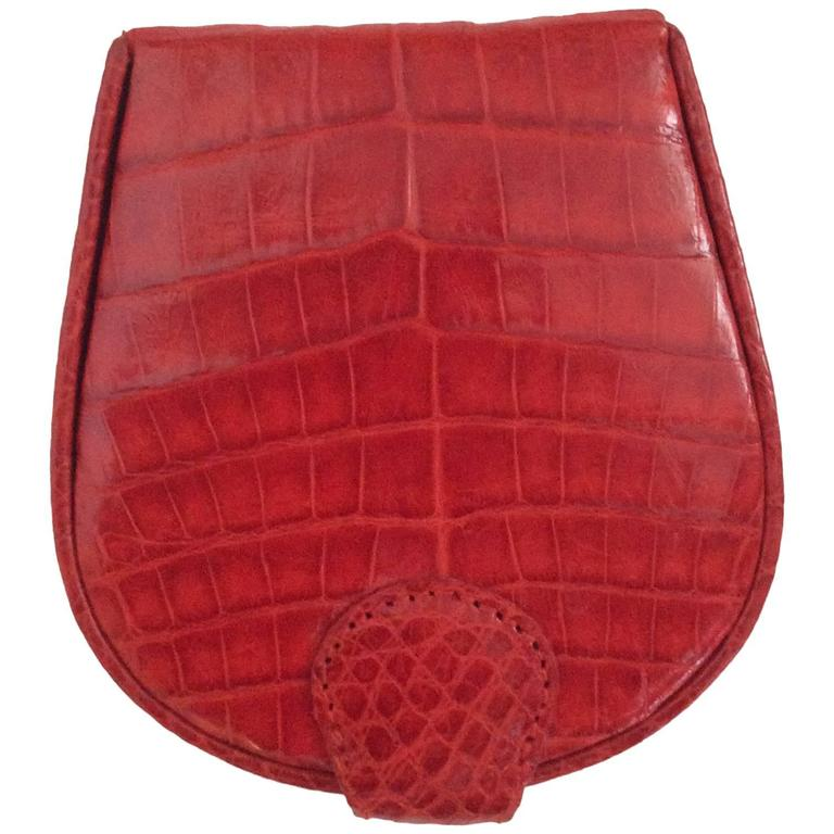 Nancy Gonzalez Crocodile Case - Bright Red
