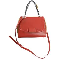 Fendi Silvana Bag - Red, Camel, Black