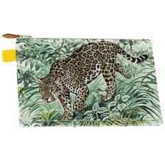 Hermès Dallet Small Cheetah Pouchette