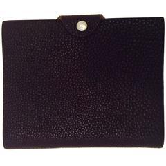 Hermes Ulysse Notebook Aubergine Togo Leather PHW