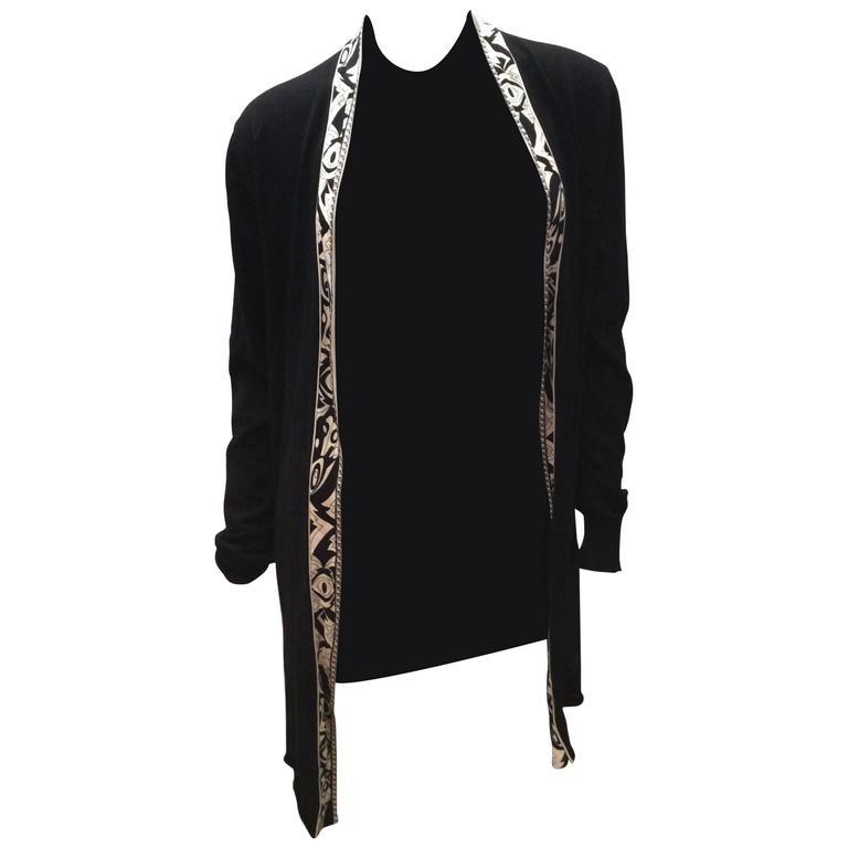 New Emilio Pucci Black Sweater - Size 42