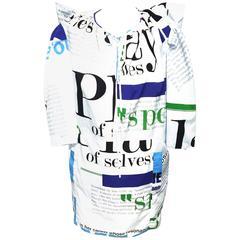 Balenciaga by Nicolas Ghesquire Cindy Sherman Print dress, Sz. S