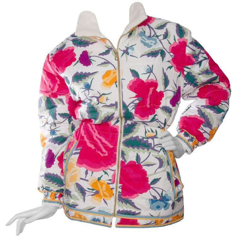 80s Leonard Puffer Jacket 1