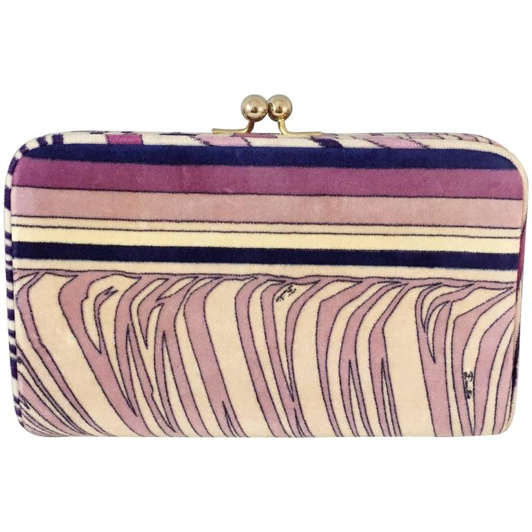 1stdibs Multicolored Abstract Pattern Beaded Clutch alTdeq