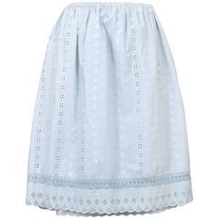 Maison Martin Margiela Artisanal Eyelet Skirt 2004