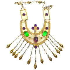 Alexis Kirk Breastplate Necklace
